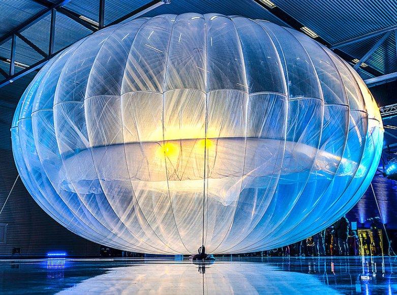 I palloni aereostatici progettati da Google