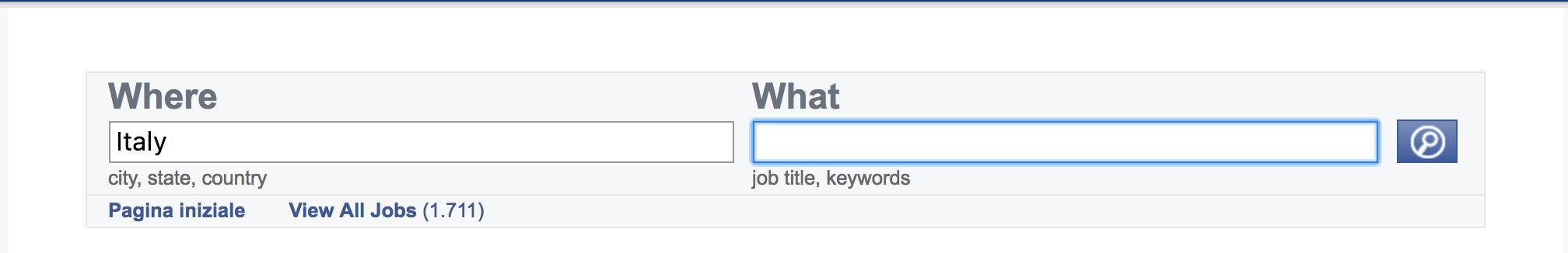 Facebook job