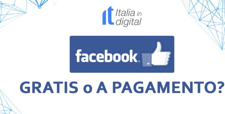 Facebook gratis o a pagamento?